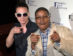 Christopher Reid (entertainer) - Christopher Reid (left) with Christopher Martin (right) at the 2010 Tribeca Film Festival.