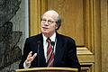 Kimmo Sasi (saml) Finland, nyvald president i Nordiska radet haller tal. Nordiska radets session 2011 i Kopenhamn.jpg