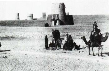 الدوله السعوديه الاولى والثانيه والثالثه 350px-King_Abdul_Aziz_Army