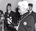 King Abdullah I of Jordan declaring independence, 25 May 1946.jpg