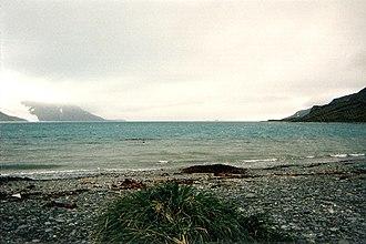 King Haakon Bay - Image: King Haakon Bay in South Georgia Island