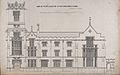 Kingswood School, Surrey; front elevation. Transfer lithogra Wellcome V0012793.jpg