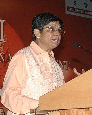 Kiran Bedi - Bedi at Successful Women in Management (SWIM) Conference in 2009