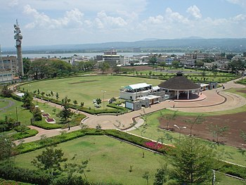 Jomo Kenyatta Stadium, in Kisumu City, Kenya