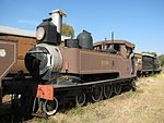This well-preserved locomotive was manufactured in 1879 by the firm Kitson & Co. of Leeds, England, and was brought to South Africa shortly afterwards for service in the Natal Government Railways. It is the oldest working steam locomotive in South Africa Type of site: Locomotive
