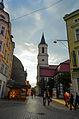 Kościół Matki Boskiej Częstochowskiej, widok od ulicy S. Żeromskiego.jpg