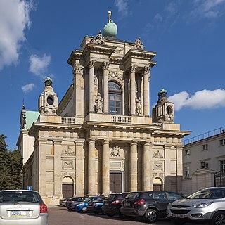 church building in Warsaw, Poland
