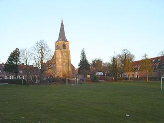 Kobbegem - Kobbegem church and village green