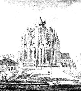 St. Maria ad Gradus - Image: Koeln Dom & St. Maria im Pesch