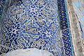 Kok Gumbaz mosque in Shahrisabz -outside 4 - detail.JPG