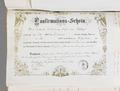 Konfirmationsbrev. Ellen von Hallwyl - de Maré - Roosval. 1882 - Hallwylska museet - 85929.tif