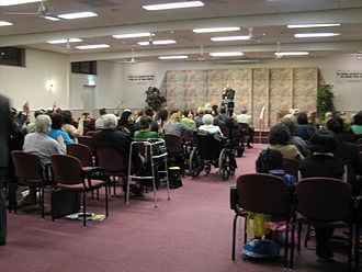 Kingdom Hall - Worship at a Kingdom Hall in Tilburg, Netherlands