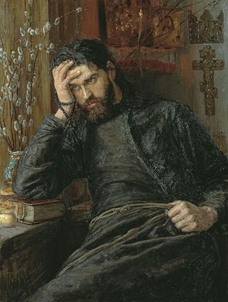 Christian monasticism - Konstantin Savitsky, monk 1897