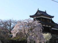 The restored turret of Kōriyama Castle