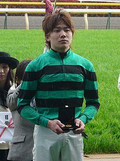 Kousei Miura Japanese jockey
