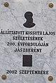 Kossuth plaque. - Jászberény.JPG