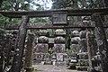 Koyasan Okunoin Satake Graves 01.JPG
