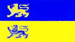 Schleswig-Flensburg - Image: Kreis Schleswig Flensburg flag
