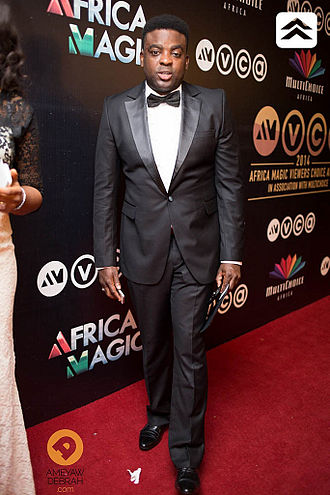 Kunle Afolayan - Kunle Afolayan at the 2014 Africa Magic Viewers Choice Awards