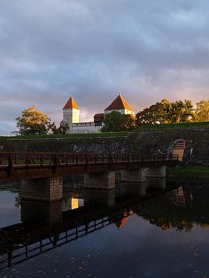 Kuressaare Castle - Image: Kuressaare linnuse sissepääs
