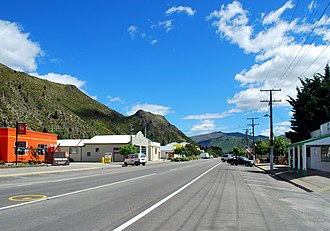 New Zealand State Highway 83 - Image: Kurow Bledisloe Street 001