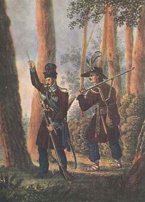 Kurpiki ostrołęckie 1831