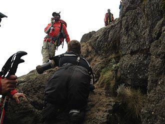 Kyle Maynard - Maynard is the first quadruple amputee to climb Mount Kilimanjaro without the aid of prosthetics.