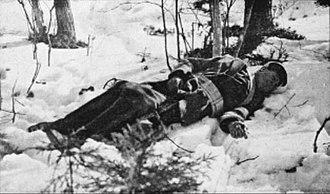 Battle of Länkipohja - Killed White soldier.