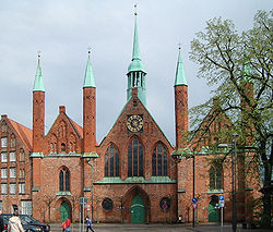 Hospital of the Holy Spirit, one of the oldest social institutions of Lübeck (1260)