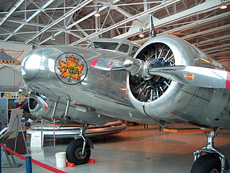 "Trans-Canada Air Lines - Lockheed Electra 10A ""CF-TCC"" in Trans-Canada Air Lines livery at the Western Canada Aviation Museum."