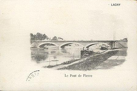 L1988 - Lagny-sur-Marne - Pont de Pierre.jpg