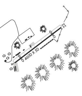 Agua Dulce Airpark - FAA Airport Sketch