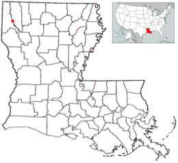 Location in the state of Louisiana.