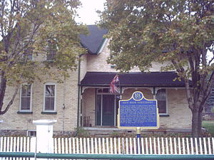Lucy Maud Montgomery - Leaskdale manse, home of Lucy Maud Montgomery from 1911 to 1926