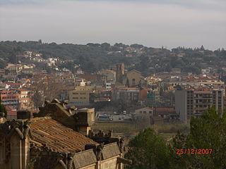 La Garriga Municipality in Catalonia, Spain