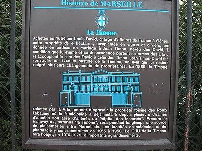 Comment aller à Hôpital De La Timone en transport en commun - A propos de cet endroit