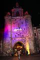La Tour de la Grosse Horloge illuminée, Noël 2009 (17).JPG