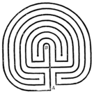 Classical labyrinth.