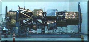 U.S. Lacrosse radar spy satellite under constr...