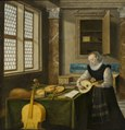Lady Playing the Lute (Hendrick van Steenwyck d.y.) - Nationalmuseum - 18523.tif