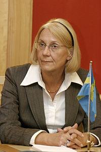 Laila Freivalds, Sveriges utrikesminister (Bilden ar tagen vid Nordiska radets session i Oslo, 2003) (1).jpg