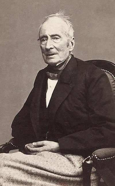 Lamartine photographed in 1865 Lamartine photography cropped.jpg