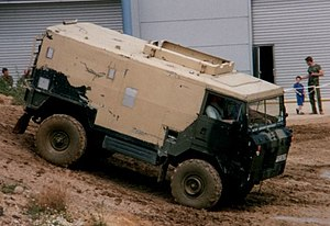 Land Rover 101 Forward Control - Radio van body
