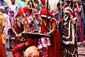 Latmar women in action in Barsana.jpg