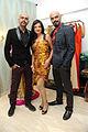 Launch of men's wear 'Pegasus' 04 Rajiv Laxman, Amy Billimoria, Raghu Ram.jpg