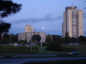 Lazdynai - View of Lazdynai