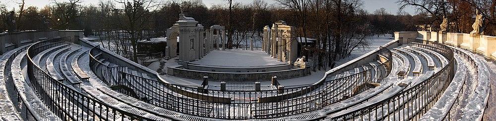 Amfiteatr W łazienkach Królewskich Wikipedia Wolna