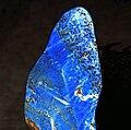 Lazurite polie - 94 mm - (Afghanistan) 3.JPG