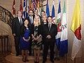 Le 6 décembre 2015, la ministre McKenna a rencontré ses homologues des provinces et des territoires à Paris pour discuter des négociations à la COP21 et d'autres sujets liés aux changements climatiques au Canada.jpg