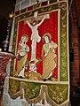 Le Conquet 12 Eglise Sainte-Croix Bannière de procession.jpg